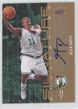 2009-10 Upper Deck Signature Collection [Autographed] #53 - Glen Davis