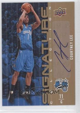 2009-10 Upper Deck Signature Collection [Autographed] #54 - Courtney Lee