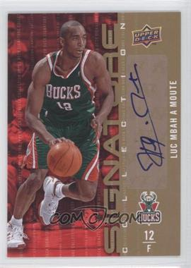 2009-10 Upper Deck Signature Collection [Autographed] #62 - Luc Mbah a Moute