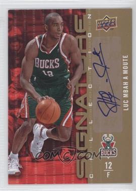 2009-10 Upper Deck Signature Collection [Autographed] #62 - Luc Mbah a Moute