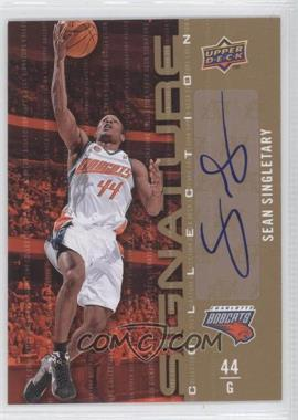 2009-10 Upper Deck Signature Collection [Autographed] #82 - Sean Singletary