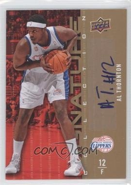 2009-10 Upper Deck Signature Collection [Autographed] #90 - Al Thornton
