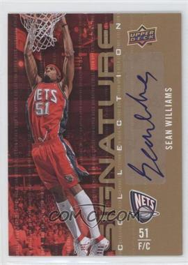 2009-10 Upper Deck Signature Collection [Autographed] #99 - Sean Williams
