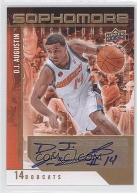2009-10 Upper Deck Sophomore Sensations Autographs [Autographed] #SS-DA - D.J. Augustin /199