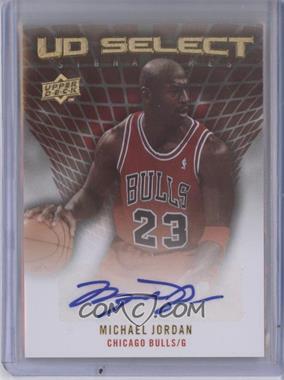 2009-10 Upper Deck UD Select Signatures [Autographed] #SS-MJ - Michael Jordan