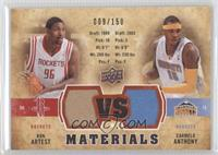 Ron Artest, Carmelo Anthony /150
