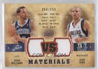 Deron Williams, Jason Kidd /150