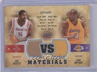 Kobe Bryant, Ron Artest /600