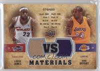 Kobe Bryant, LeBron James /600
