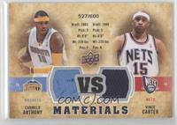Carmelo Anthony, Vince Carter /600