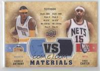 Vince Carter, Carmelo Anthony /600