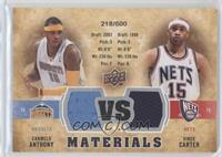Vince Carter, Carmelo Anthony /600