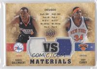 Eddy Curry, Samuel Dalembert /600