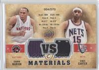 Shawn Marion, Vince Carter /570