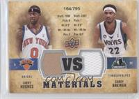 Larry Hughes, Corey Brewer /795