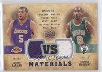 Jordan Farmar, Stephon Marbury
