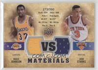 Magic Johnson, John Starks