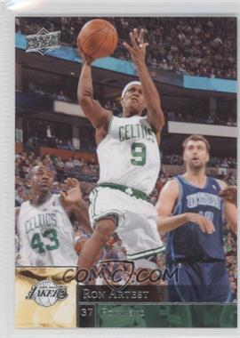 2009-10 Upper Deck Wrong Name on Front #10 - Rajon Rondo