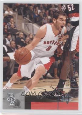 2009-10 Upper Deck Wrong Name on Front #181 - Jose Calderon