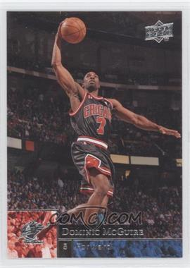 2009-10 Upper Deck Wrong Name on Front #27 - Ben Gordon
