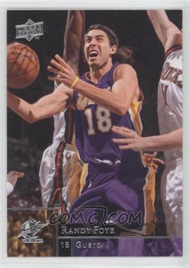 2009-10 Upper Deck Wrong Name on Front #85 - Sasha Vujacic