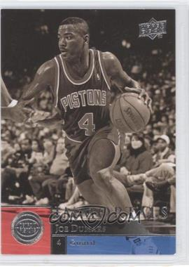 2009-10 Upper Deck #274 - Joe Dumars