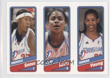 2009 Rittenhouse WNBA - [Base] #4-5-6 - Michelle Snow, Ivory Latta, Tamera Young /399