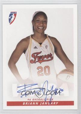 2009 Rittenhouse WNBA - Rookies Autographs #N/A - Briann January