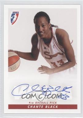 2009 Rittenhouse WNBA - Rookies Autographs #N/A - Chante Black