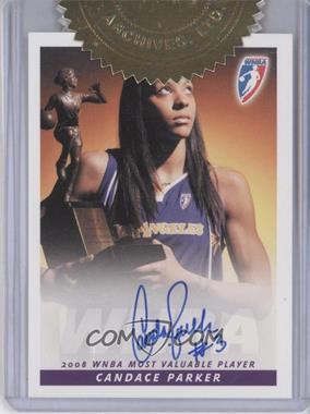2009 Rittenhouse WNBA Autographs #N/A - Candace Parker