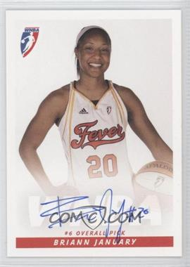 2009 Rittenhouse WNBA Rookies Autographs #N/A - Briann January