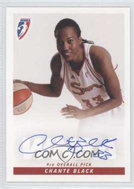 2009 Rittenhouse WNBA Rookies Autographs #N/A - Chante Black