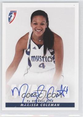 2009 Rittenhouse WNBA Rookies Autographs #N/A - Marissa Coleman