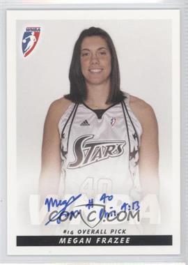 2009 Rittenhouse WNBA Rookies Autographs #N/A - Megan Frazee