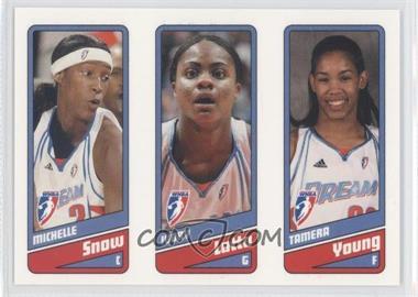 2009 Rittenhouse WNBA #4-5-6 - Michelle Snow, Ivory Latta, Tamera Young /399