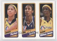 Candace Parker, Lisa Leslie, DeLisha Milton-Jones