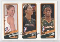 Lauren Jackson, Sue Bird, Swin Cash /399