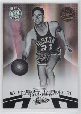 2010-11 Absolute Memorabila Black Spectrum #121 - Bill Sharman /1