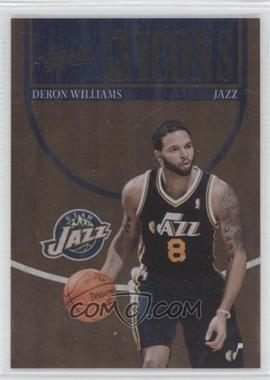 2010-11 Absolute Memorabila NBA Icons #15 - Deron Williams /399