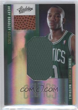 2010-11 Absolute Memorabila Rookie Premier Materials Jumbo Jersey Number w/ Ball #169 - Avery Bradley /25
