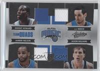 Dwight Howard, Jameer Nelson, J.J. Redick, Jason Williams /100