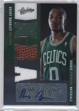 2010-11 Absolute Memorabila #169 - Rookie Premiere Materials NBA Signatures - Avery Bradley /499
