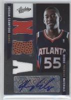 Rookie Premiere Materials NBA Signatures - Jordan Crawford /499