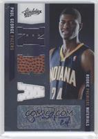 Rookie Premiere Materials NBA Signatures - Paul George /499