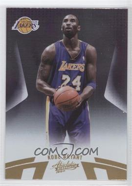 2010-11 Absolute Memorabilia - [Base] #5 - Kobe Bryant