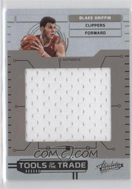 2010-11 Absolute Memorabilia - Tools of the Trade - Jumbo Materials #13 - Blake Griffin /99