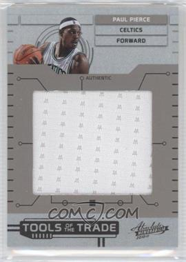 2010-11 Absolute Memorabilia - Tools of the Trade - Jumbo Materials #23 - Paul Pierce /99