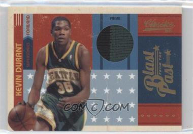 2010-11 Classics Blast from the Past Jerseys Prime [Memorabilia] #9 - Kevin Durant /25