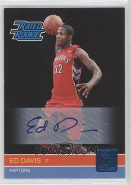2010-11 Donruss - [Base] - Signatures [Autographed] #240 - Ed Davis /399