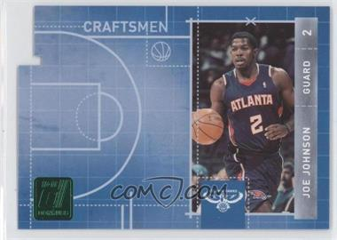 2010-11 Donruss - Craftsmen - Emerald Die-Cut #12 - Joe Johnson